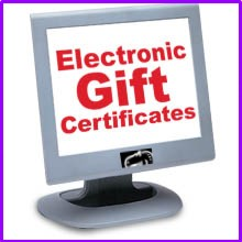 Electronic Gift Certificates