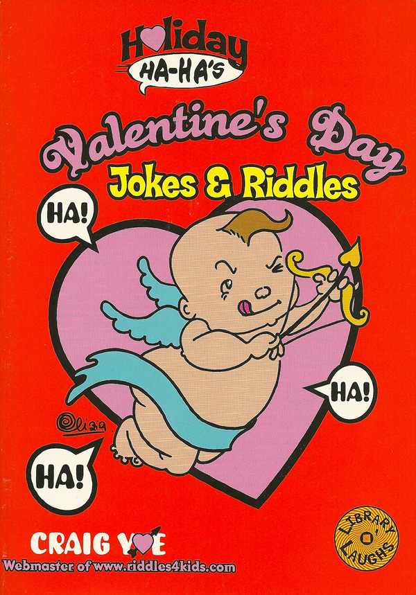 Holiday Ha-Ha's: Valentine's Day Jokes & Riddles is a one-of-a-kind joke